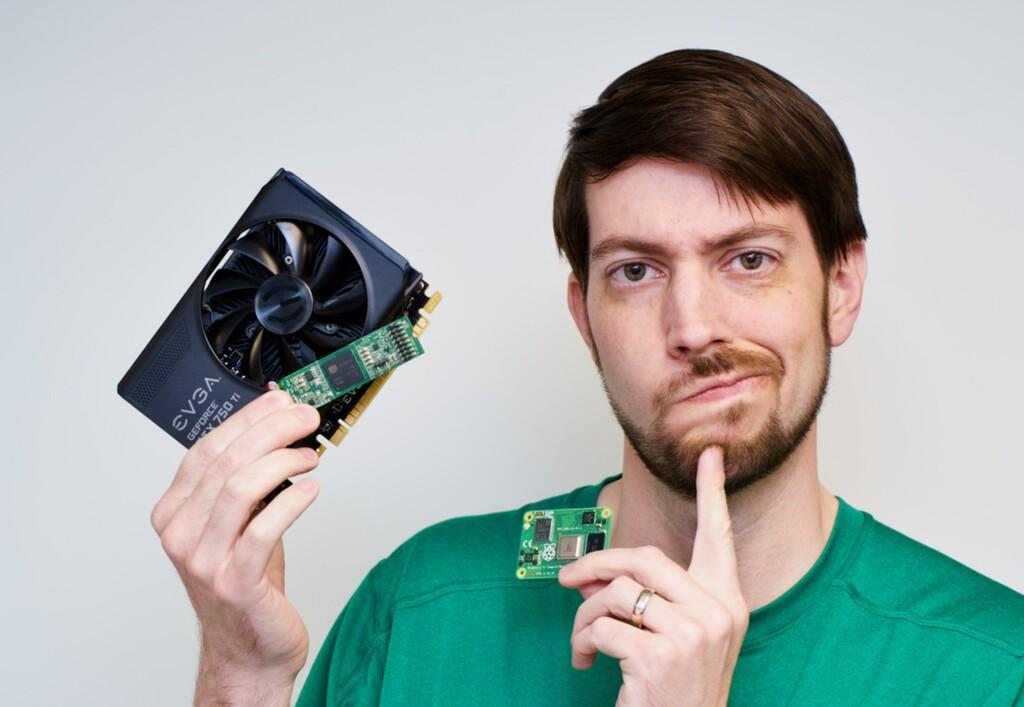 Hay quien está intentando conectar una GTX 1080 a una Raspberry Pi por el mero hecho de conseguirlo