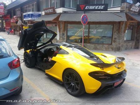 McLaren P1 Sierra Nevada