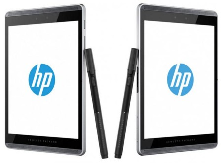 HP Slate Pro 12 y 8, tablets Android con puntero HP Duet Pen
