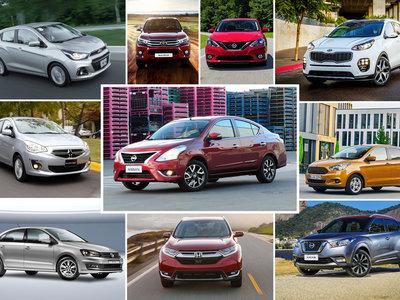 Los 23 autos más vendidos en México durante la primera mitad de 2017