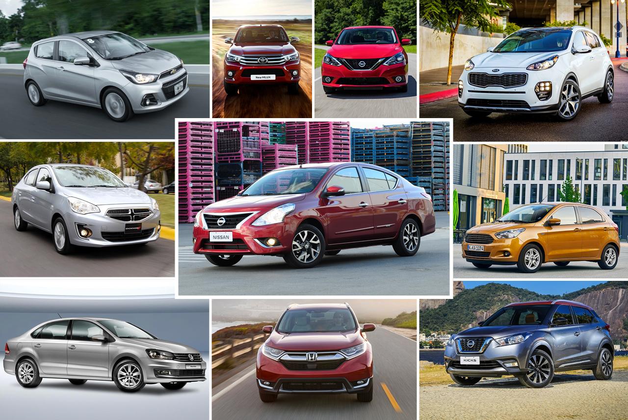 Ventas de autos y modelos más vendidos en México durante