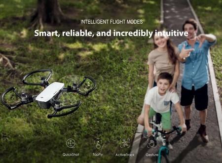 Dron DJi Spark, con cámara de 12 megapixeles, por 333,15 euros y envío gratis desde España