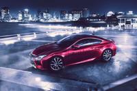Lexus RC Coupe - el dos puertas japonés con el frente raro