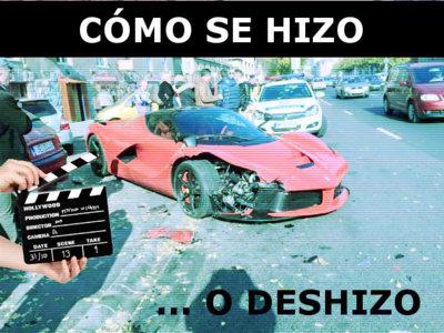 Making of 'Ferrari LaFerrari al susto de Halloween': así se crea un Dolorpasión™