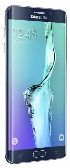 Galaxy S6 Edge Left Black Sapphire