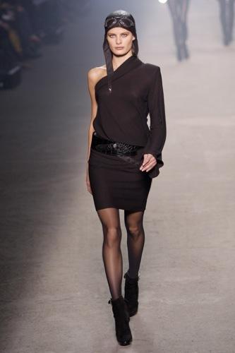 Hermès Otoño-Invierno 2009/2010 en la Semana de la Moda de París, vestidos cortos
