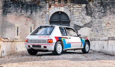 Peugeot 205 Turbo 16 (1985) Pearl White, a subasta