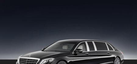 Mercedes-Maybach S 600 Pullman Guard: lo más de lo más en berlinas blindadas