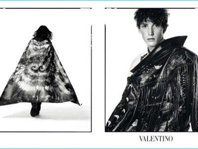 Valentino apuesta por una visión matizada por los existencialistas y lo étnico para el otoño 2016