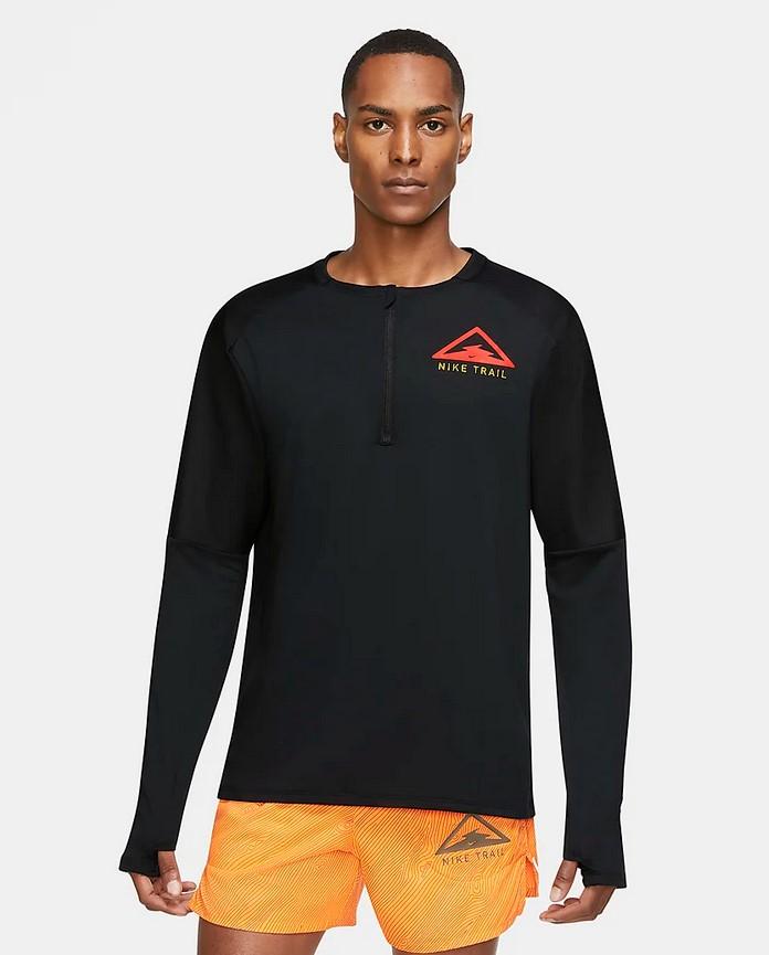 Camiseta de manga larga de trail running - Hombre Nike