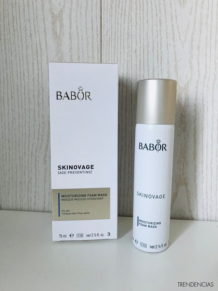 review mascarilla espumosa babor