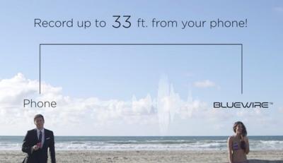 Bluewire es un pequeño dispositivo Bluetooth que graba todas las conversaciones de tu smartphone