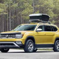 """Volkswagen Atlas Weekend Edition: un SUV de siete plazas en versión """"dominguero"""""""
