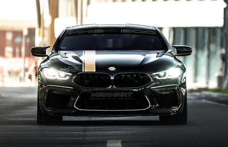 Manhart ha enfadado al BMW M8 Competition hasta sacarle 825 CV para conseguir un 0-100 km/h en 2,6 segundos