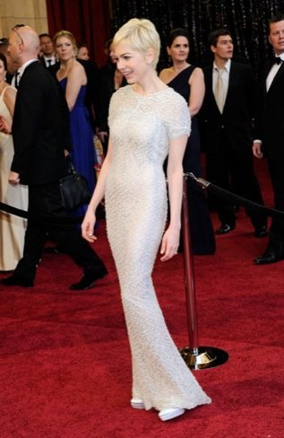 Michelle Williams zapatos Oscar 2011