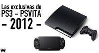 Las exclusivas de PS3 y PS Vita en 2012