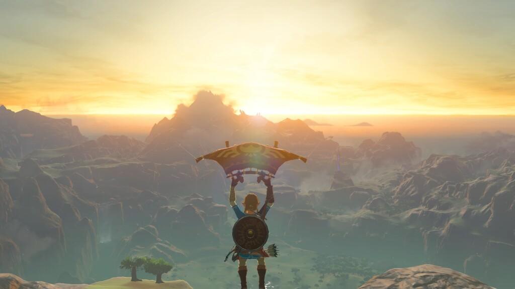 Un glitch en Breath of the Wild permite a Link volar sin la paravela y abre nuevas posibilidades para la escena del speedrunning