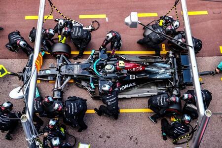 Bottas Monaco F1 2021