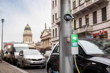 Ubitricity londres farola punto de carga coche eléctrico
