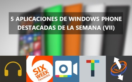 5 apps de Windows Phone destacadas de la semana (VII): 2BeDone, Reddit8, 6 Week Training y más.