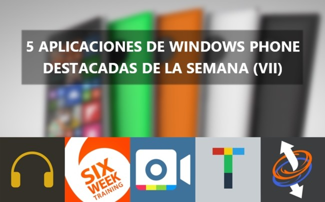Windows Phone Week Apps