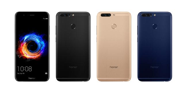 Éste es el Honor 8 Pro, lo enfrentamos contra el Huawei Mate 9 y el P10 Plus