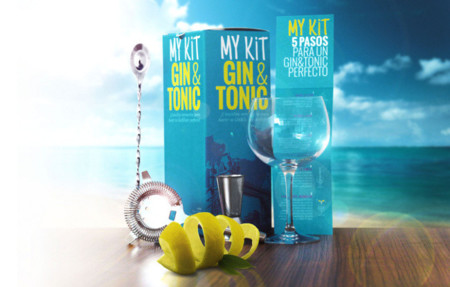 my kit gin tonic