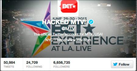 ¿Merece la pena fingir un hackeo para ganar atención? @MTV y @BET creen que sí