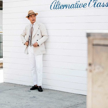El mejor street-style de la semana se pinta de un sólo color de pies a cabeza este otoño