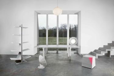 Colección de muebles de hormigón de Matali Crasset