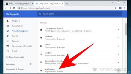 Benachrichtigungen Google Chrome