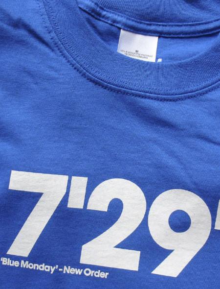 Camisetas con la duración exacta de una gran canción