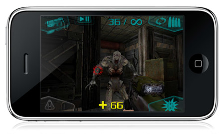 Doom Resurrection para iPhone / iPod touch, interesante pero a medio gas