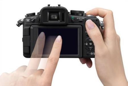 LCD tactil