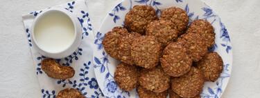 Galletas de avena y tahini súper fáciles: receta con solo tres ingredientes (sin harina, sin huevo y sin lácteos)