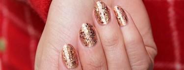 ¿Sin ideas para decorar tus uñas? 17 manicuras llenas de glitter para brillar esta Nochevieja