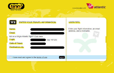 Taxi²: Compartir taxi para ahorrar dinero