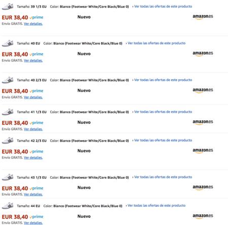 Zapatillas Adidas Pace VS a su precio mínimo en Amazon  38 432df73bef754
