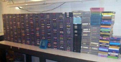 A subasta, casi todos los juegos de NES