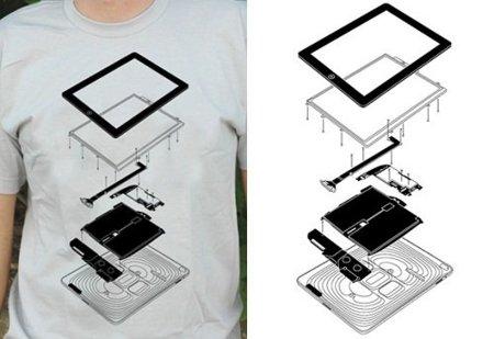 Camiseta The Exploded iPad