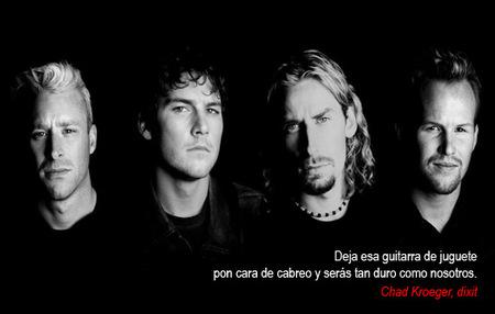 El cantante de Nickelback aconseja dejar 'GuitarHero'