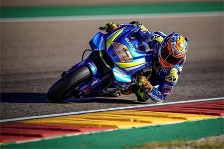 Alex Rins Suzuki Motorland