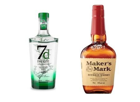 Oferta flash en whisky y ginebra en Amazon: 7D London Dry Gin y Maker'S Mark  Whisky