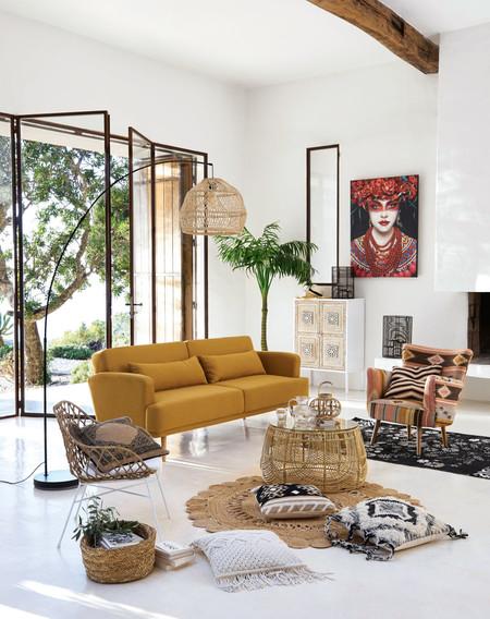 Nueve sofás cama por menos de 500 euros en Maisons du Monde, para ganar versatilidad y recibir invitados