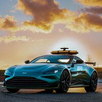 El Aston Martin Vantage es el nuevo Safety Car de la Fórmula 1 aunque compartirá pista con el Mercedes AMG GT-R