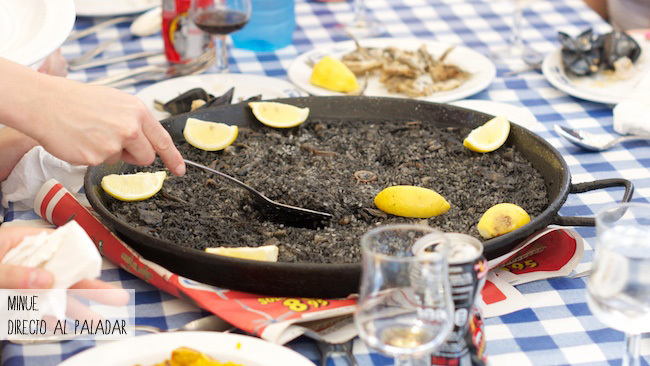 Restaurante el velero - arroz negro