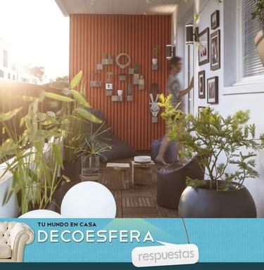 ¿Cómo decorarías tu balcón para aprovecharlo mejor? La pregunta de la semana