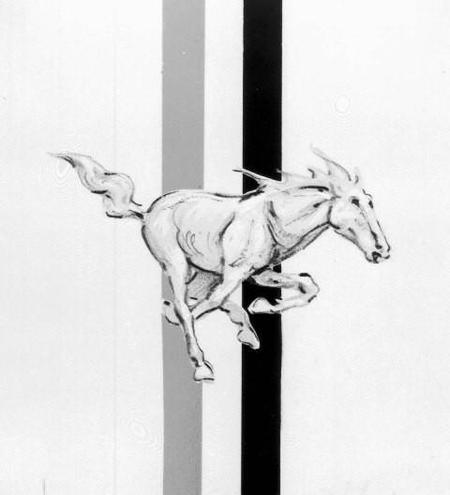Emblema Mustang