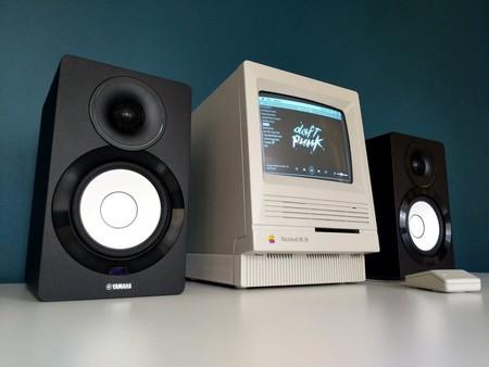 Spotify en un Macintosh