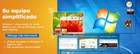 Bienvenido, Windows 7